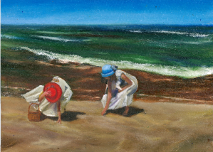At the Beach Afternoon