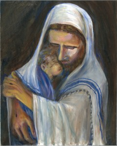 HisLove inspirational oil painting by Yeshua's Child Art