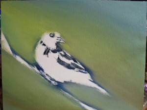 background for oriole painting