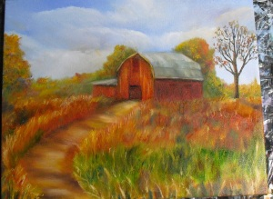 Lesson 3 in How to Paint a Barn with Oil Paints
