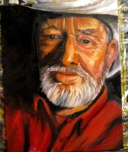 a portrait study in oils by Yeshua's Child Art Studio
